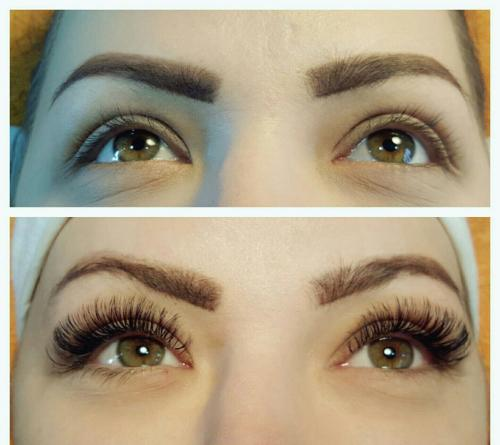 VOLUME LASHES (RUSSIAN)